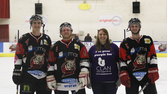 Aberdeen Lynx join with CLAN to boost cancer charity effort