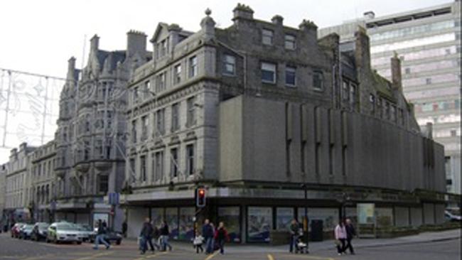Restaurant plan for Aberdeen's Esslemont and Macintosh site