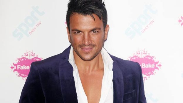 Tan-talising: Peter Andre launches new fake tan