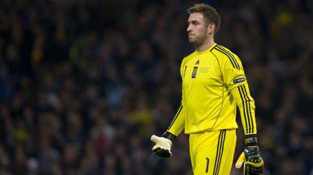Allan McGregor: Scotland star looks set to miss out on London 2012.
