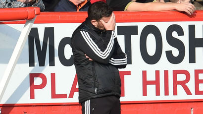 Derek McInnes refusing to panic despite third straight Aberdeen loss