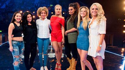 X Factor final six girls