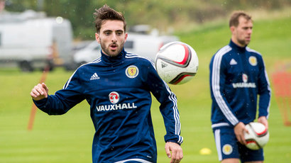 Versatile Shinnie happy to play any position just to win Scotland cap