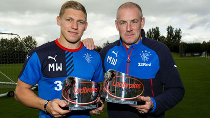 Mark Warburton and Martyn Waghorn win the Championship Manager and Player of the Month for September.