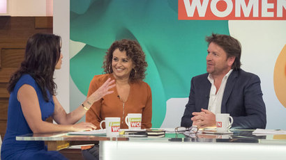 Chef James Martin on Loose Women