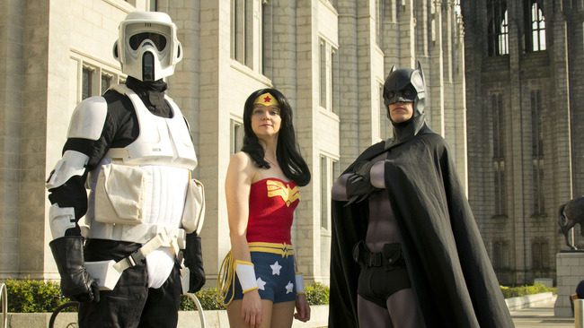 When Batman met Wonder Woman: Superhero speed dating comes to Aberdeen