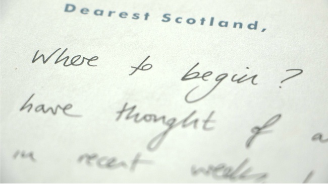 Letters of hope to a future Scotland revealed in new book