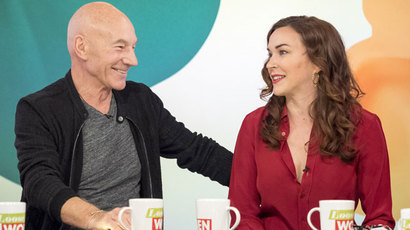 Sir Patrick Stewart and Sunny Ozell on Loose Women