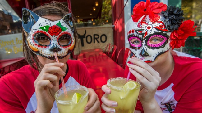 Free Day of the Dead Halloween event in Edinburgh's Grassmarket