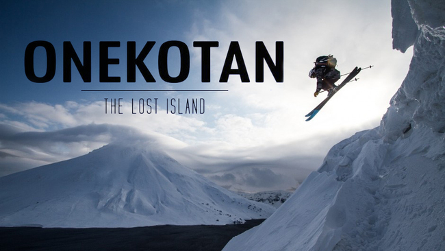 Daring duo who skied down Onekotan volcano to present film in Scotland