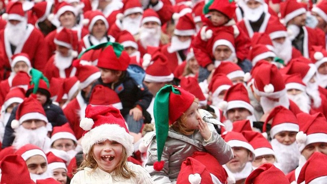 Santa Run to return to Edinburgh for 11th year
