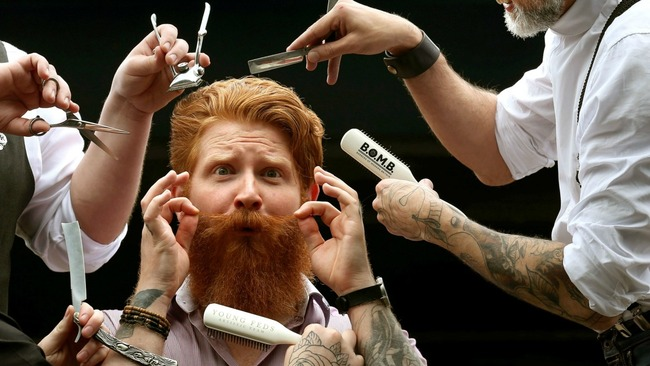 First Scottish Beard and Moustache Championship hunts for best ginger beard