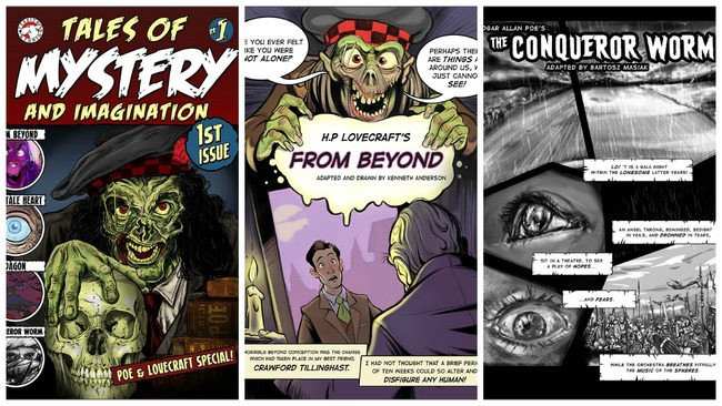 Classic tales transformed into gruesome retellings for Dundee comic