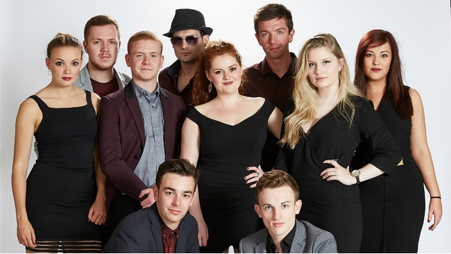 Glasgow Uni a capella stars vye for top slot on The Naked Choir