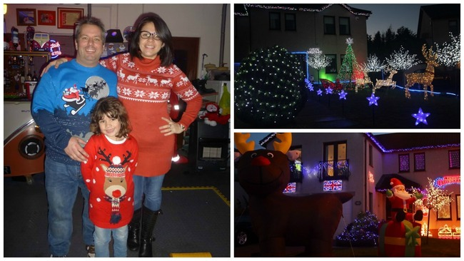 Neighbours vow to keep Christmas lights lit in memory of cancer victim