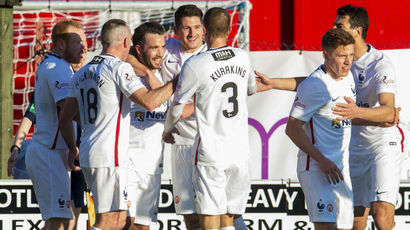 Hamilton 1-1 Aberdeen: Dons miss chance to go second in Premiership