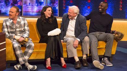 Idris Elba, Sir David Attenborough, Liv Tyler and Keith Lemon on The Jonathan Ross Show