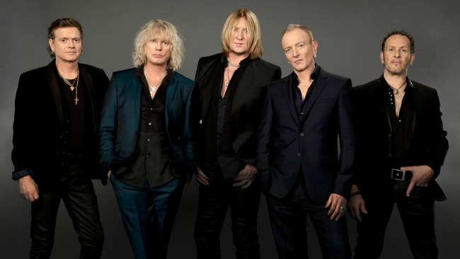 Def Leppard reveal backstage at Hydro 'we will be back to Glasgow'