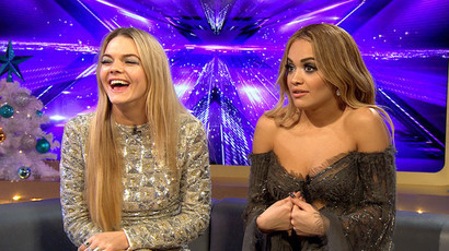 Louisa Johnson and Rita Ora
