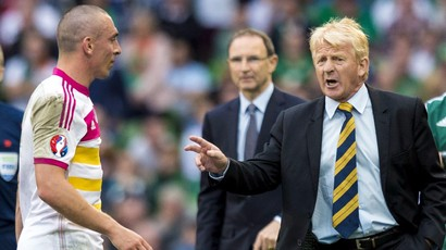Scott Brown and Gordon Strachan