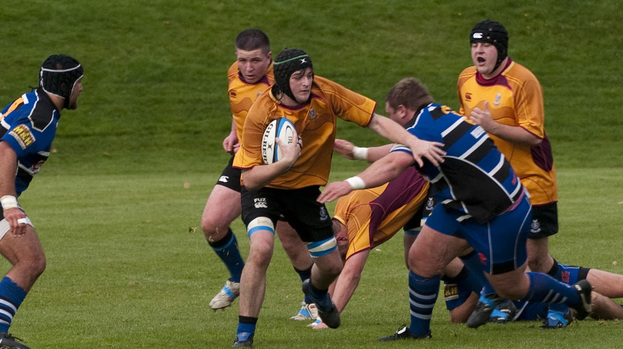 Tries the difference as Dalziel triumph