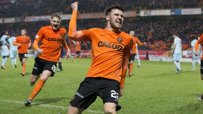 Dundee United 1-0 Partick Thistle: Terrors strike late to claim win