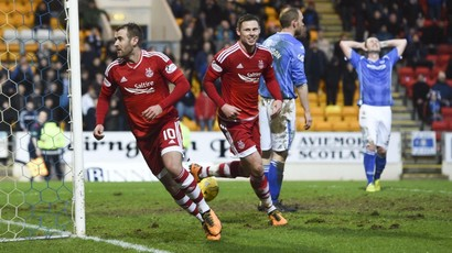 See Aberdeen join Celtic at top with thrilling win over St Johnstone