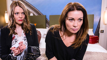 Corrie carla and tracy