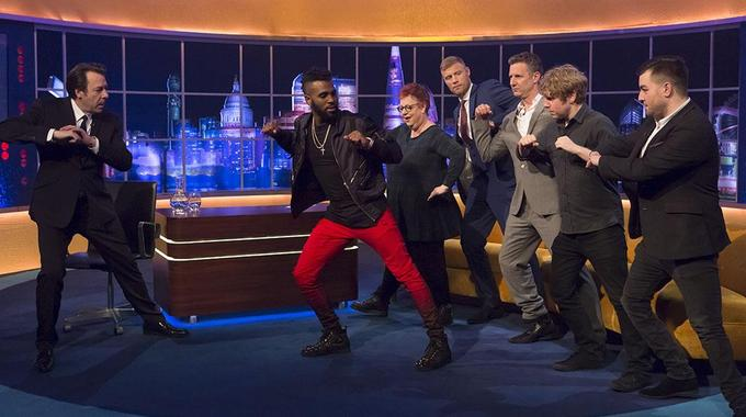 The Jonathan Ross Show - Sat 06 Feb, 9.20 pm
