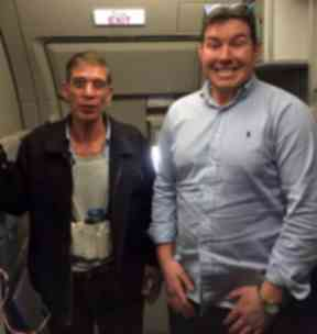 'Suicide belt': Man used fake bomb to take control of flight.