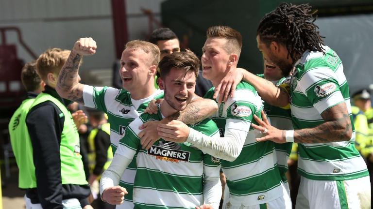 Celtic on the brink of clinching Premiership title after Hearts win