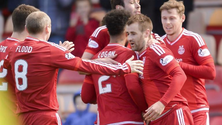 Aberdeen 4-1 Motherwell: Dons secure second place Premiership finish