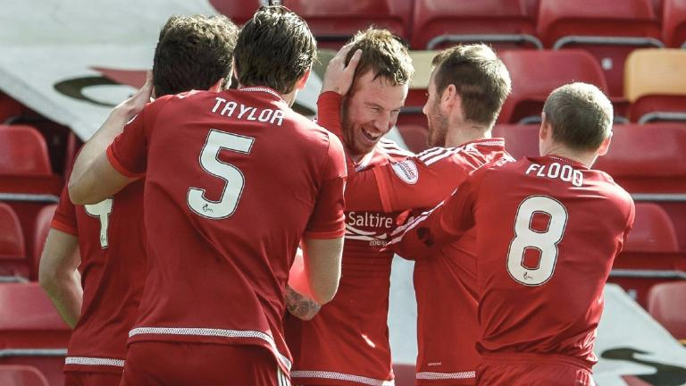 Aberdeen manager sets target of beating last season's points tally
