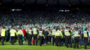 Scottish FA chief executive 'shocked and appalled' by crowd trouble