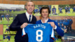 Joey Barton on chasing trophies at Rangers