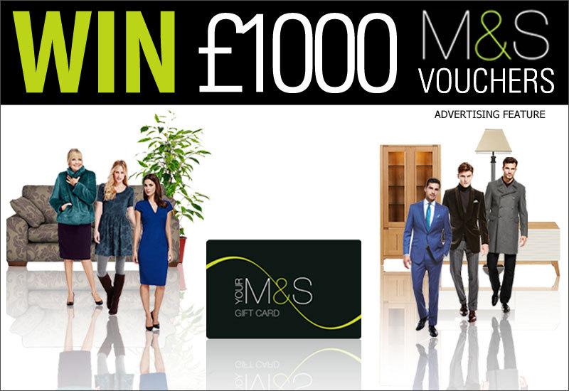Win £1,000 M&S Vouchers