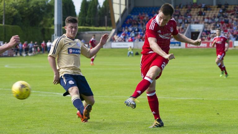 Aberdeen warm up for European qualifier with win over Brechin City