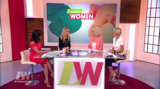 Loose Women - Britt Ekland says she's finally happy with herself - at 73