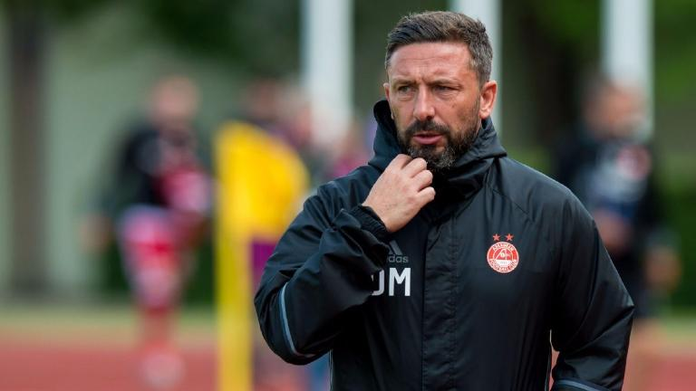 McInnes expects Europa League qualification to 'heat up' for Dons