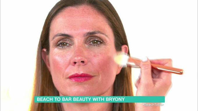 This Morning - How to do beach to bar make-up