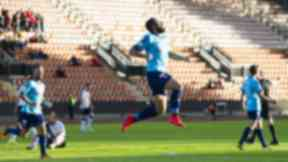Equaliser: Alex D'Acol celebrates after he scores his side's second goal.