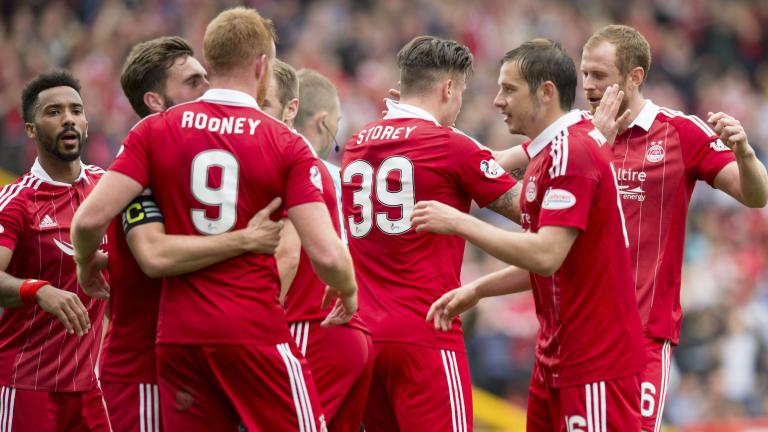 Aberdeen 2-1 Partick Thistle: First Dons goal for Miles Storey