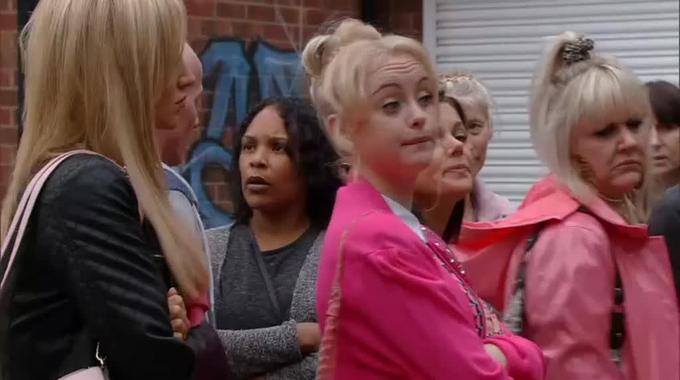 Coronation Street - Corrie (Fri Sep 2, 7.30pm): Aidan negotiates with the girls