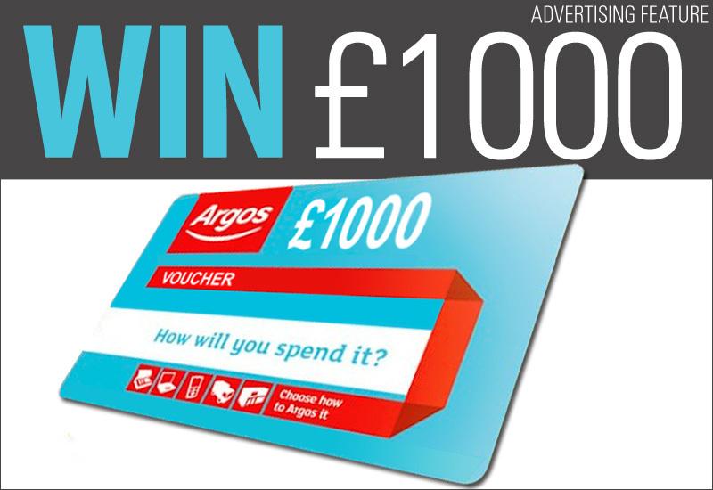 Win £1,000 Argos Vouchers!