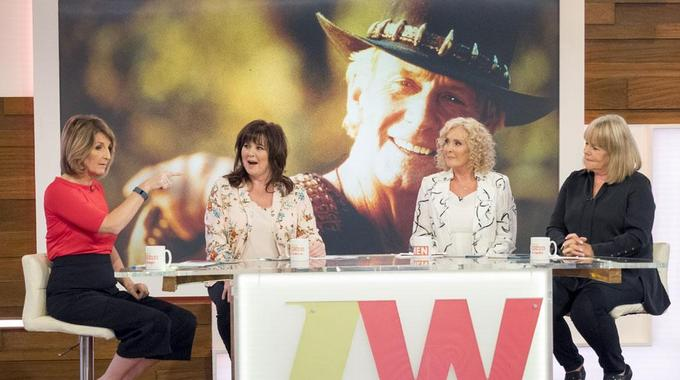 Loose Women - When have we seen celebs doing mundane things?