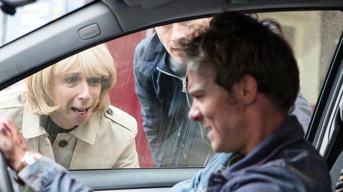 Coronation Street - Behind The Scenes: David's Car Crash