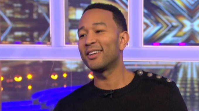 The X Factor - Catching up with John Legend