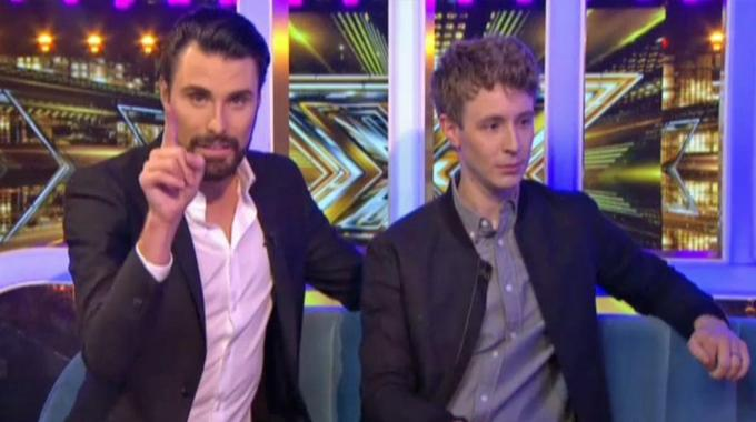 The X Factor - Matt and Rylan Chat with this week's loser