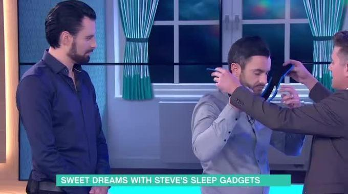 This Morning - Steve Wilson's gadgets for a good night's sleep