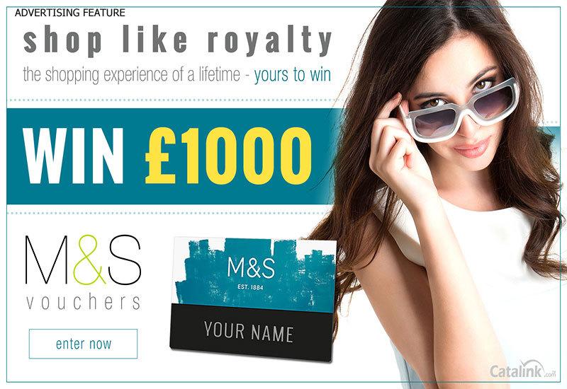Win £1,000 M&S Vouchers!